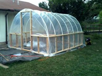 Build A Hoop Greenhouse